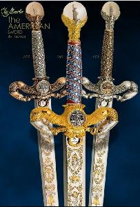 # 760 American Liberty Sword by Marto of Toledo Spain