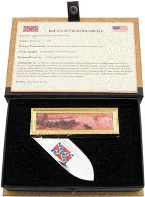 # RCBRM2589TS Battle Of Fredericksburg Collector Pocket Knife