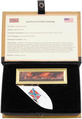 # RCBRM2590TS Battle Of Fort Sumter Collector Pocket Knife