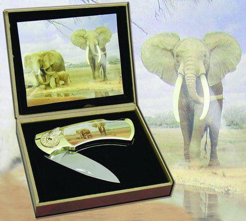 # RCBWCHPK2020E015TS Elephant Collectable Pocket Knife