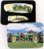 # RCBWCHPK2022JDT14TS Tractor Collectable Pocket Knives Set