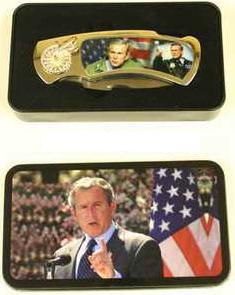# RCBWCHPK37BHTS President Bush Collectable Pocket Knife