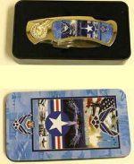 # RCBWCHPK37HAFTS U.S. Air Force Collectable Pocket Knife