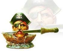 # RCBWCHTL11013TS Pirate Treasure Letter Opener