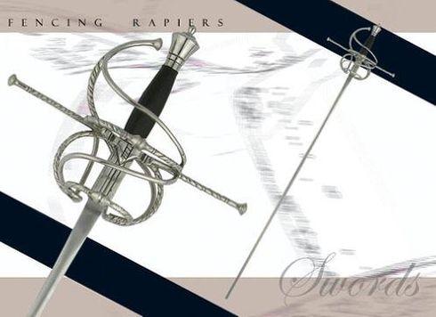 # RCCASSH1032BTS Paul Chen Renaissance Schlaeger Fencing Rapier