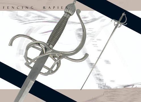 # RCCASSH1098TS Paul Chen Practical Rapier Sword