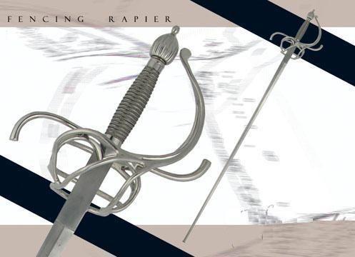 # RCCASSH1099TS Paul Chen Practical Rapier II Sword