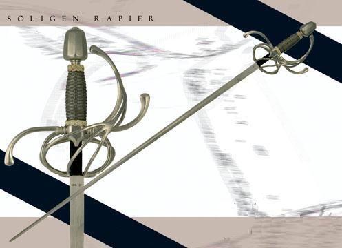 # RCCASSH2205TS Paul Chen Solingen Rapier Sword