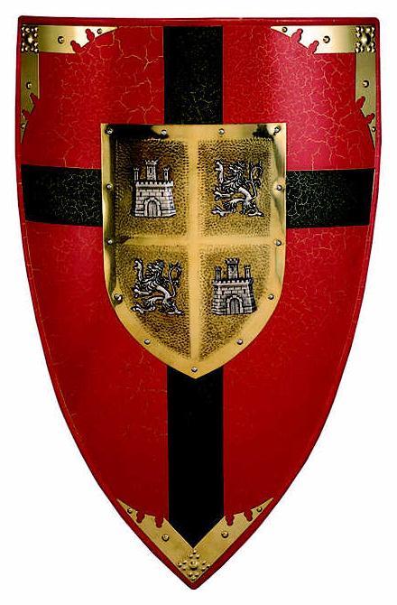 # 981 Castille and Leon Shield by Marto of Toledo Spain