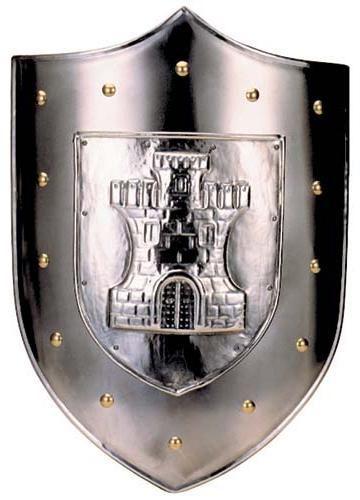 # 962 Castle Shield by Marto of Toledo Spain