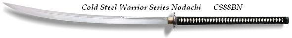 # CS88BN Cold Steel Warrior Series Nodachi