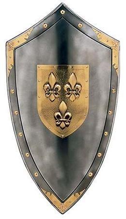 # 970.7 Fluer de Lys Shield by Marto of Toledo Spain