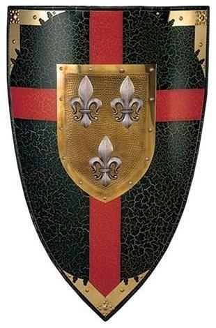 # 982 Duchy of Anjou Shield by Marto of Toledo Spain