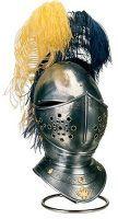 # 901.2 Engraved Spanish Horse Helmet by Marto of Toledo Spain