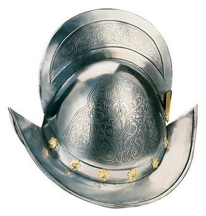 # 924 Deluxe Spanish Round Morion Helmet by Marto of Toledo Spain