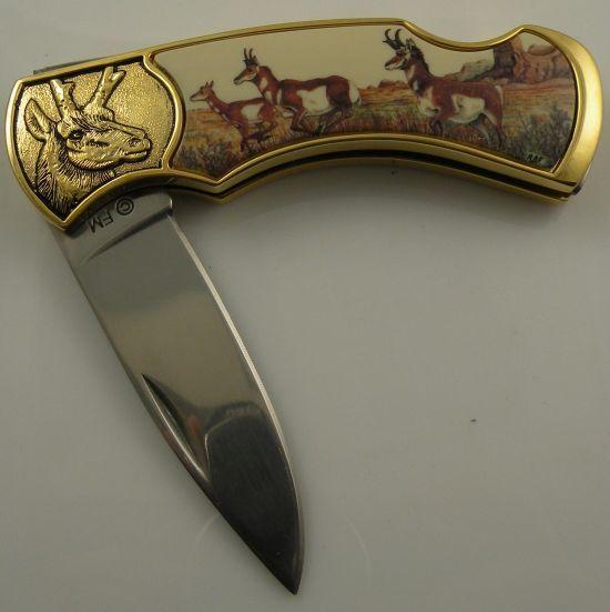 # RCFMAntelopeTS Franklin Mint Antelope Pocketknife