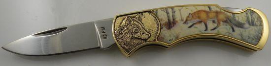 # RCFMRedFoxTS Franklin Mint Red Fox Pocketknife