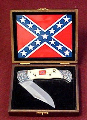 # RCEWPK98GETS Confederate 4 Generals Collector Pocket Knife