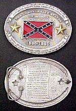 # RCGRBB1860TS Civil War Confederate History Belt Buckle