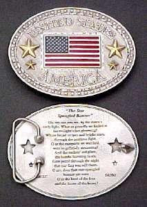 # RCGRBB1911TS United States America Belt Buckle