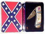 # RCGRCK215BTTS Confederate General Beauregard Collector Pocket Knife