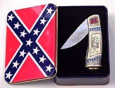 # RCGRCK215TTS Confederate General Robert E. Lee Battle of Fredricksburg Collector Pocket Knife