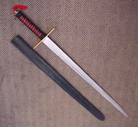 # RCBWHK306TS Large Double Edged Ninja Sword