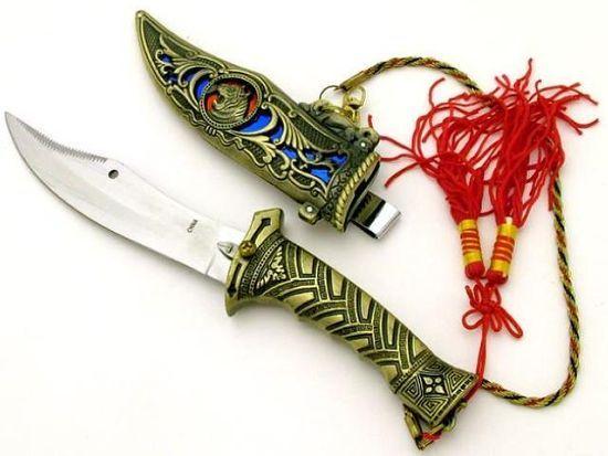 # RCGRHK9907TS Jeweled Tiger Dagger