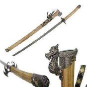 # RCGRJL038TS Wood Katana Samurai Sword