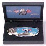 # RCGRKPK2020EMFTS USA Dixie Chopper Motorcycle Collector Pocket Knife