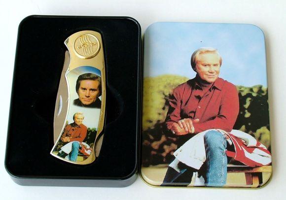 # RCGRPK2020GJTS George Jones Collectable Pocket Knife