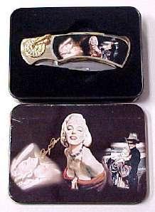 # RCGRPK2020MM2TS Marilyn Monroe Collector Pocket Knife