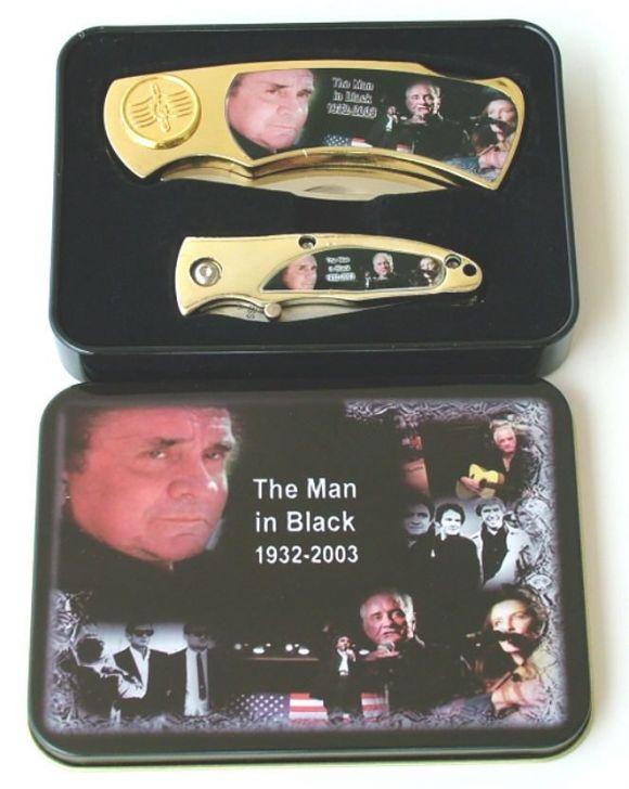 # RCGRPK2022JCTS Johnny Cash Collectable Pocket Knives Set