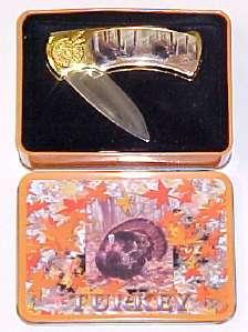 # RCGRPK20409TS Wild Turkey Collector Pocket Knife