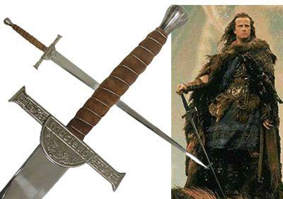 # RCGRPK634STS Highlander Sword