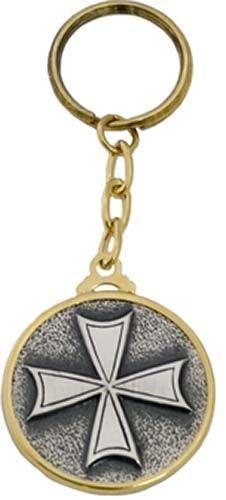 # LL004 Templar Knight Hospitallers Cross Keychain by Marto of Toledo Spain
