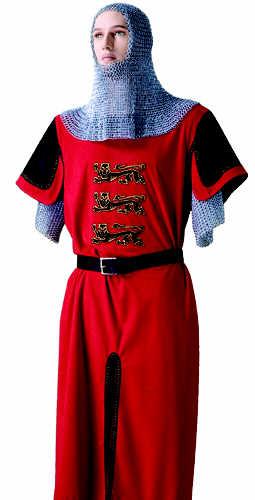# MF1526 King Richard the LionHeart Tunic Costume by Marto of Toledo Spain