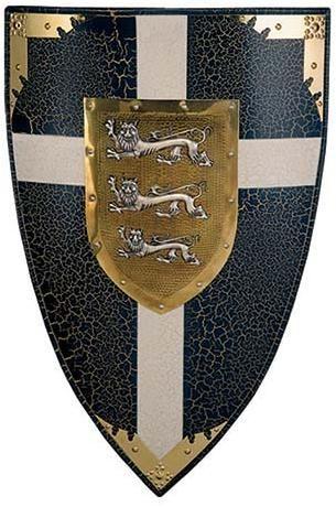 # 983 King Richard the Lion Heart Shield by Marto of Toledo Spain