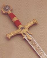 # RCMA586TS Gold King Solomon Sword by Marto of Toledo Spain