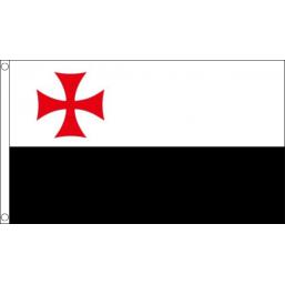 Knights Templar Battle Flag