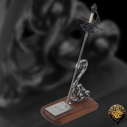 # RCMH2304TS Paul Chen Cas Hanwei Italian Swept Hilt Miniature Rapier Sword