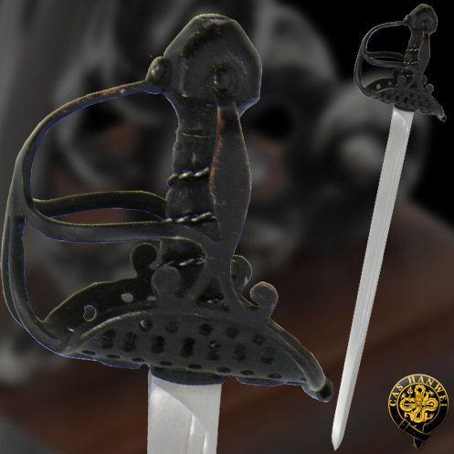 # RCMH2306TS Paul Chen Cas Hanwei Oliver Cromwell English Mortuary Miniature Sword