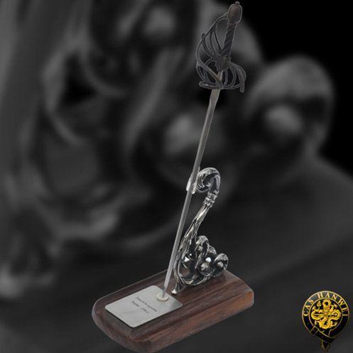 # RCMH2311TS Paul Chen Cas Hanwei French Swept Hilt Miniature Rapier Sword