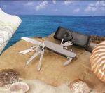 # RCMXSKSS11NVTS U.S. Navy Silver Star Collector's Pocket Knife