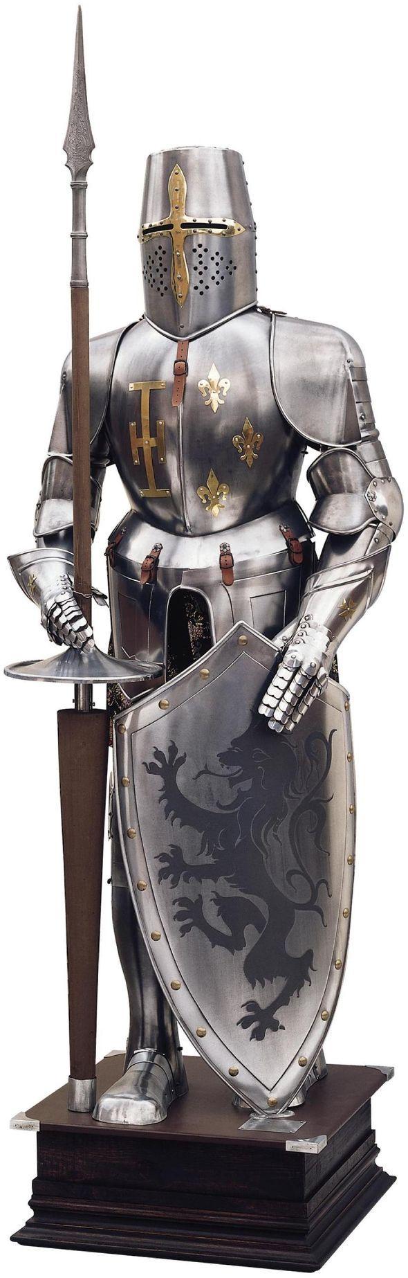 toledo swords medieval suit of armor fine quality medieval suit of