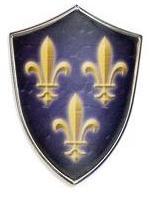 # 5285 Miniature Charles V Shield by Marto of Toledo Spain