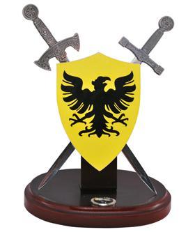 # RC5061HTS Miniature German Battle Shield and Swords