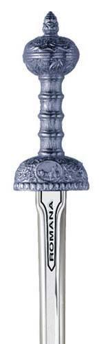 # 5223.2 Miniature Roman Julius Ceasar Sword by Marto of Toledo Spain - Silver