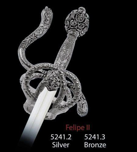# 5241 Miniature Philip II Sword Limited Edition by Marto of Toledo Spain