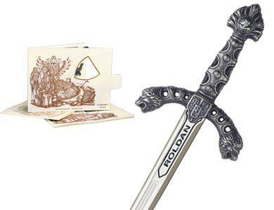 # 5221.2 Miniature Roland Sword by Marto of Toledo Spain - Silver